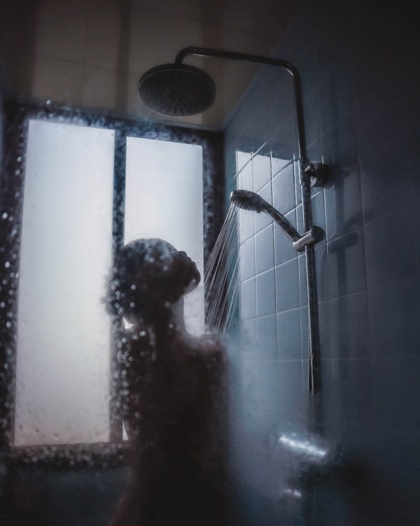 Avoid hot showers to keep eczema at bay